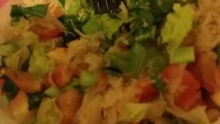 Raw vegan Keto Bowl Meal