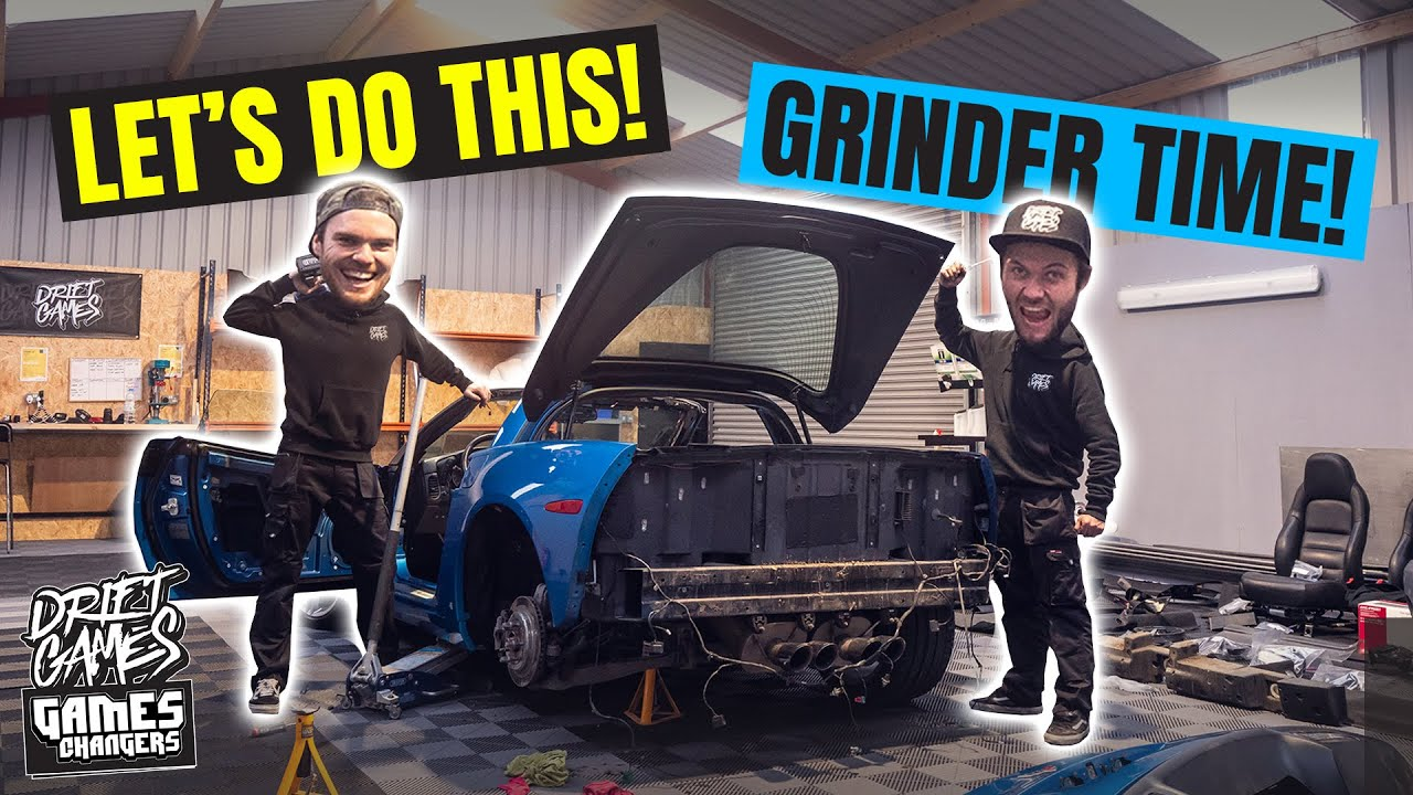 Stripping our C6 CORVETTE + MAZDA MX5 NC | The drift build begins!