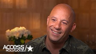Vin Diesel Talks Success Of Fast 8; Voicing Baby Groot In 'Guardians' 'Vol. 2' | Access Hollywood
