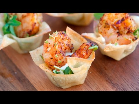 How to Make Chili Lime Baked Shrimp Cups - The Perfect Party Appetizer