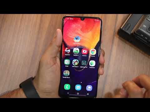Galaxy A50/A30 How To Lock Apps And Use Secure Folder [Hindi]