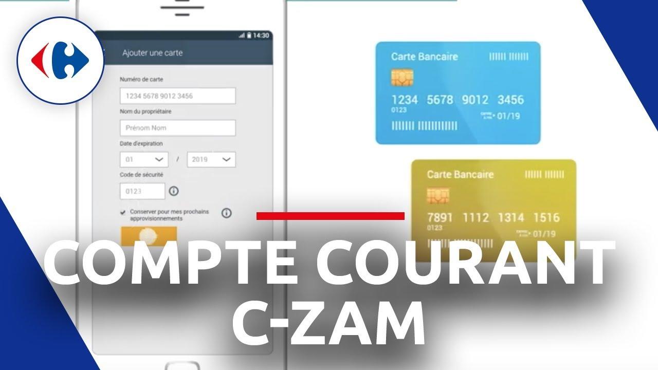 Carte Carrefour Prepayee.Comment Approvisionner Mon Compte Courant C Zam Par Carte Bancaire