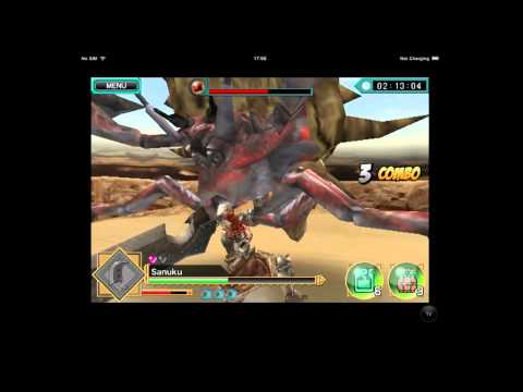 Monster Hunter Dynamic Hunting - IPad - NZ - Gameplay Trailer