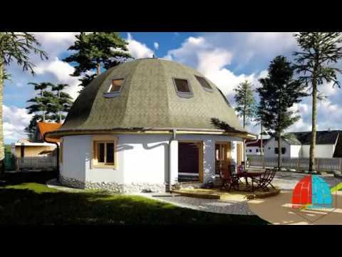 Купольный дом на 150м2. Ногинск, часть 1