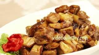Filipino Eggplant with Garlic & Soy Sauce - Talong Adobo Recipe