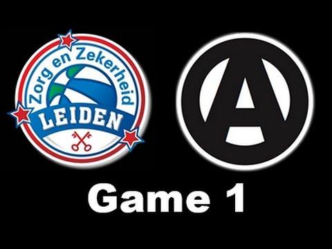 Zorg en Zekerheid Leiden - Apollo Amsterdam (game 1) (15 apr. 2017)