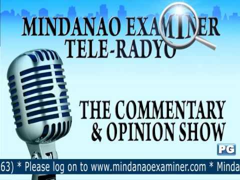 Mindanao Examiner Tele-Radyo Jan. 16, 2014