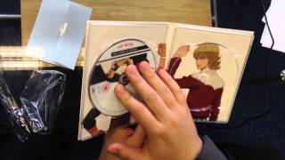 Tiger And Bunny - The Beginning, Unboxing