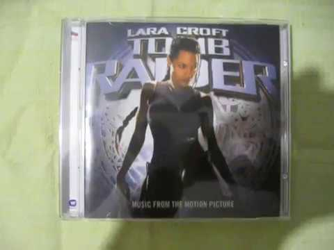 Lara Croft Tomb Raider Soundtrack 2001 Unboxing Cd