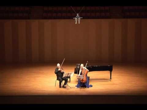 Pinchas Zukerman & Amanda Forsyth at Goyang Aram Nuri Arts Center, pt. I