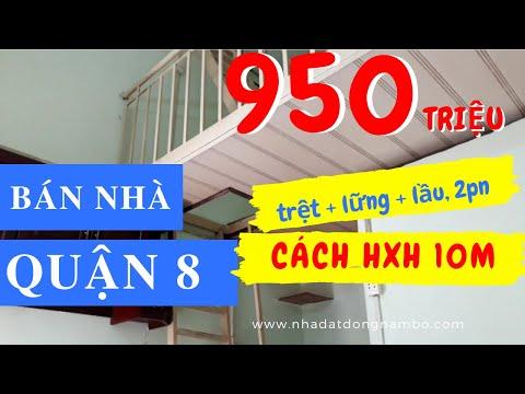 Chính Chủ Bán Nhà Quận 8 Dưới 1 Tỷ, Hẻm 122 Phú Định P16 Q8