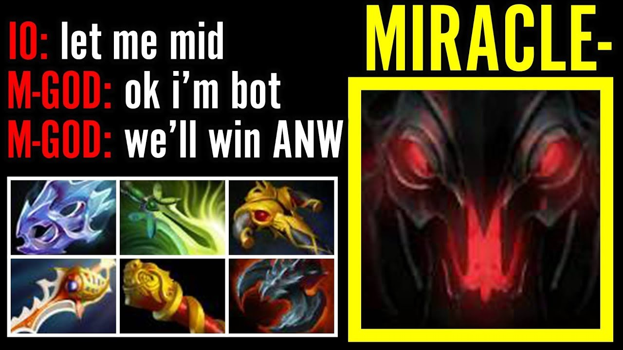 Don't Trash Talk with MIRACLE Shadow Fiend Pro Carry Gameplay