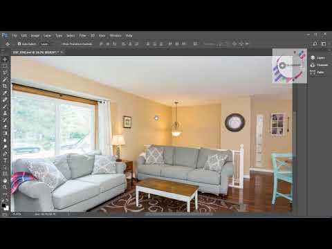 Adobe Photoshop CC2017 - Chỉnh sửa ảnh nội thất (Phần 1)