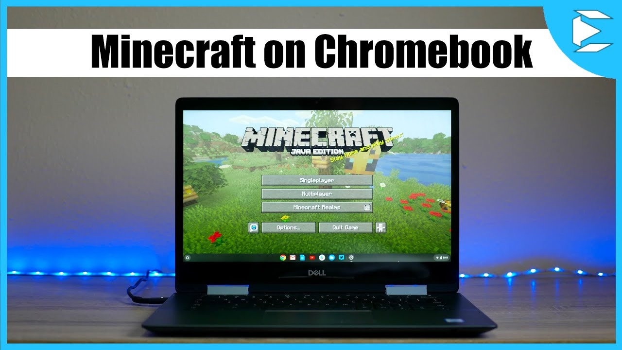 HowTo Install Minecraft on a Chromebook YouTube