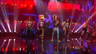lmfao party rock anthem y i m sexy and i know it live ft justin bieber ama 2011