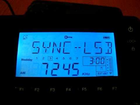 SW: Radio Mauritanie 7245 kHz Nouakchott, Mauritania 2012-03-21