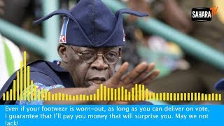 #NigeriaDecides: Tinubu Caught On Tape Promising To 'Pay Money That Will Surprise' Voters