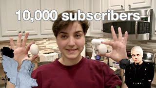 Baking An Emo Cake For 10,000 Subscribers