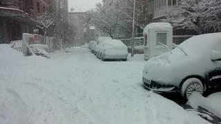 18 February 2015 Istanbul Snow Storm - 18 Subat 2015 İstanbul Kar Yağışı Part 2