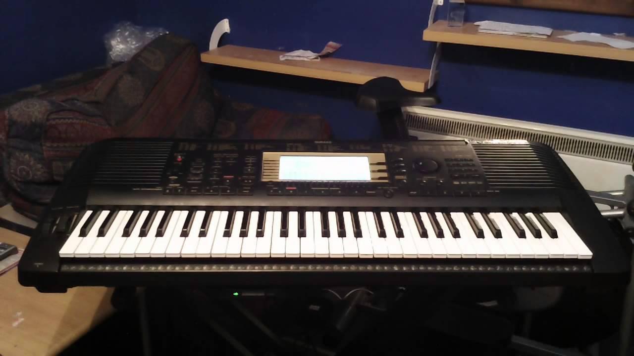 Yamaha psr 730 keyboard 20 xg demo songs from the factory for Yamaha psr 410 keyboard