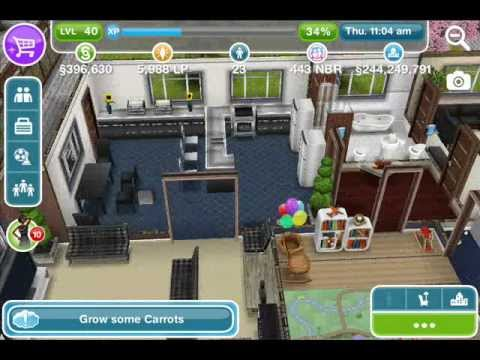 The Sims Freeplay - Designed House by Player Shquita S. Walk ...