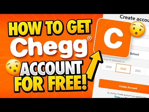 Free Chegg Account - How To Get Chegg Account For Free - Android & IOS