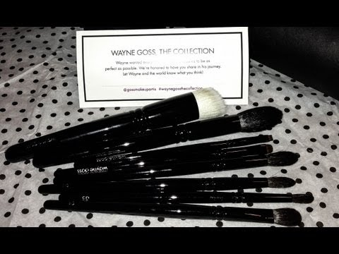 First Impression : Wayne Goss The Collection : Makeup Brushes