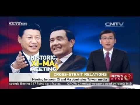 Meeting between Xi and Ma dominates Taiwan media