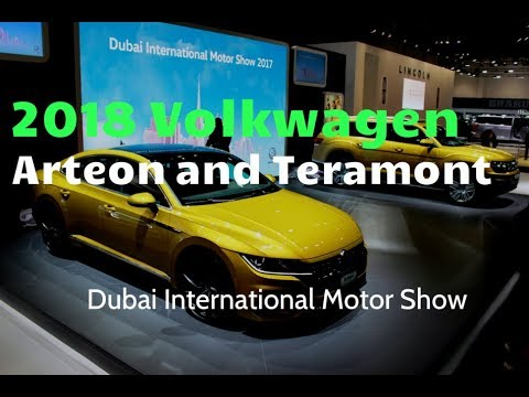 2018 Volkswagen Teramont and Arteon revealed at the Dubai International Motor Show | YallaMotor.com