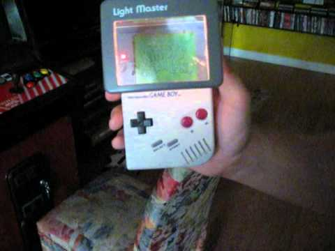 Kirby S Dream Land Game Boy With Vintage Light And