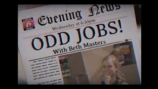 Odd Jobs local news segment (1998) - Tony's Video Galaxy