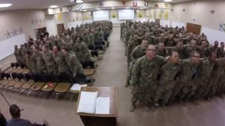 300+ Soldiers Sing Days Of Elijah