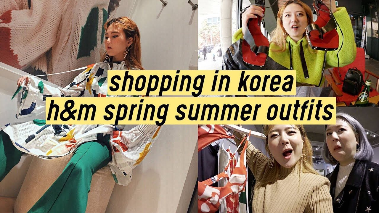 Shopping in Korea: H&M Spring Summer 2018 Outfits | Q2HAN 9