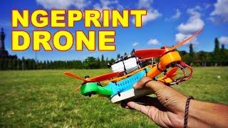 Membuat Drone Sendiri Pakai Printer 3D VLOG89