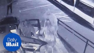 CCTV footage shows the night Agnese Klavina went missing