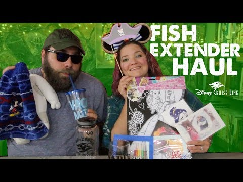 Disney Cruise Fish Extender Haul!
