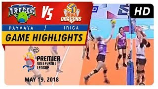 Pvl rc season 2 - wd: high flyers vs. lady oragons | game highlights | may 19, 2018