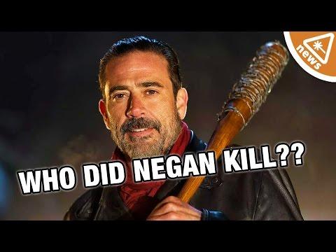 Who Did Negan Kill? New Walking Dead Theory! (Nerdist News w/ Jessica Chobot)