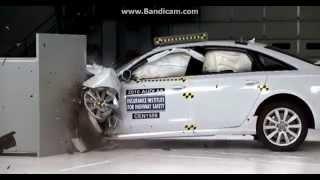 2016 Audi A6 Small Overlap Frontal Crash Test