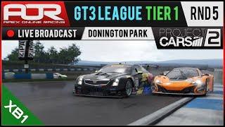 Project CARS 2 | AOR GT3 League | XB1 Tier 1 | S10 | R5: Donington Park