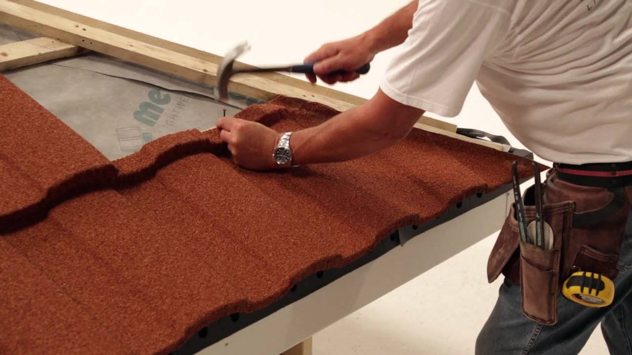 Fixing Installing Lightweight Roofing Hip Tiling Roma