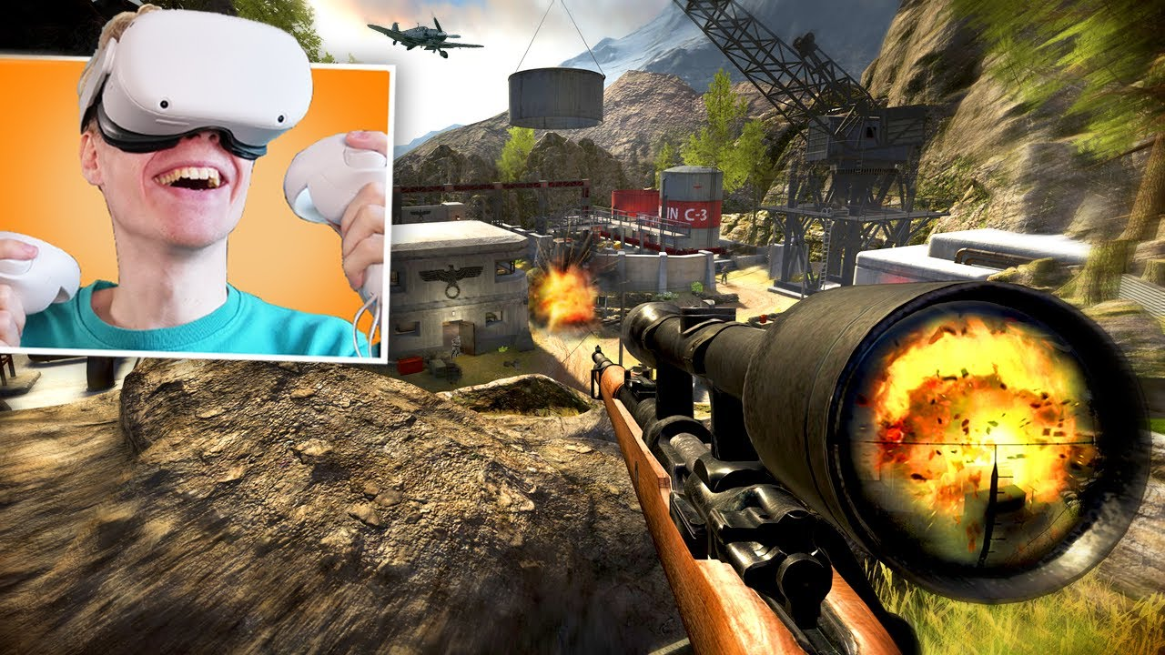 BECOME A WW2 SNIPER IN VIRTUAL REALITY! | Sniper Elite VR: Gameplay & Review