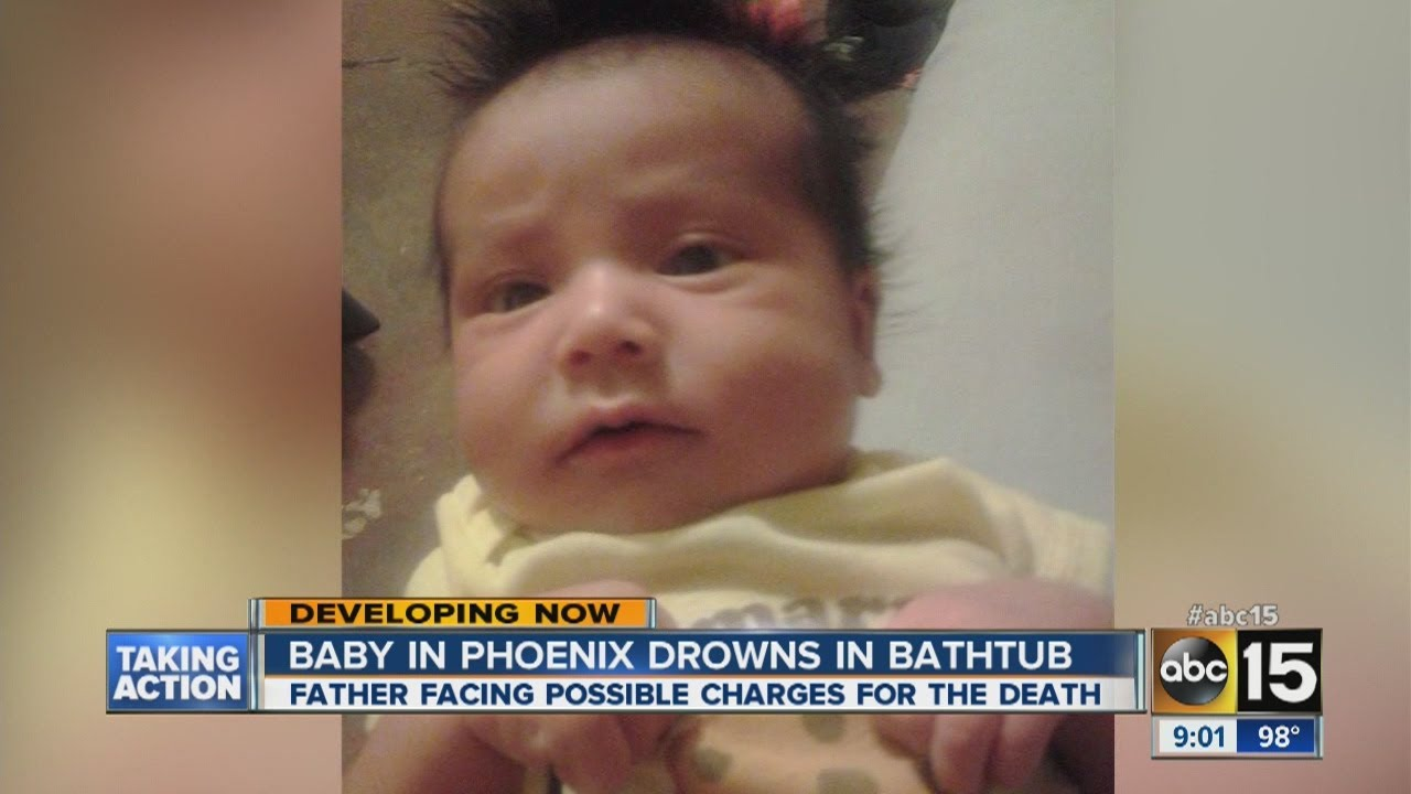 Baby drowns in Phoenix bathtub - YouTube