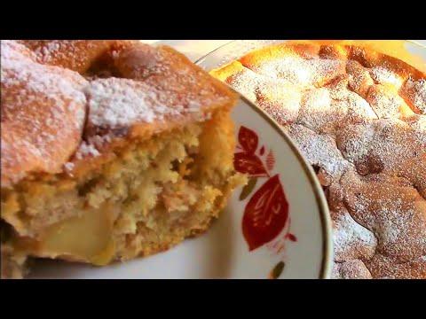 Шарлотка с яблоками — любимый домашний пирог