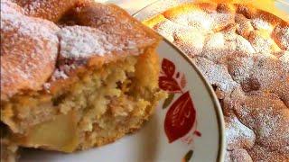 Шарлотка яблочная.Рецепт шарлотки с яблоками. Вкусная шарлотка./ Тесто для шарлотки.