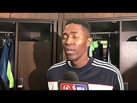 3/18/18: Jamal Crawford talks Derrick Rose and the Western Conference Standings