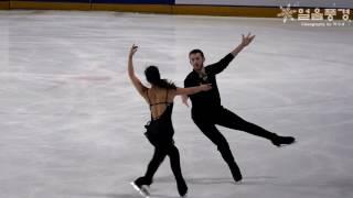 연습 FD 민유라 & 알렉산더 겜린 YURA MIN & ALEXANDER GAMELIN @ 2016년 피겨 랭킹대회 공식연습 2일차