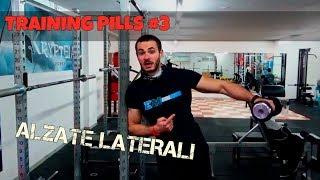 ALZATE LATERALI - TRAINING PILLS #3