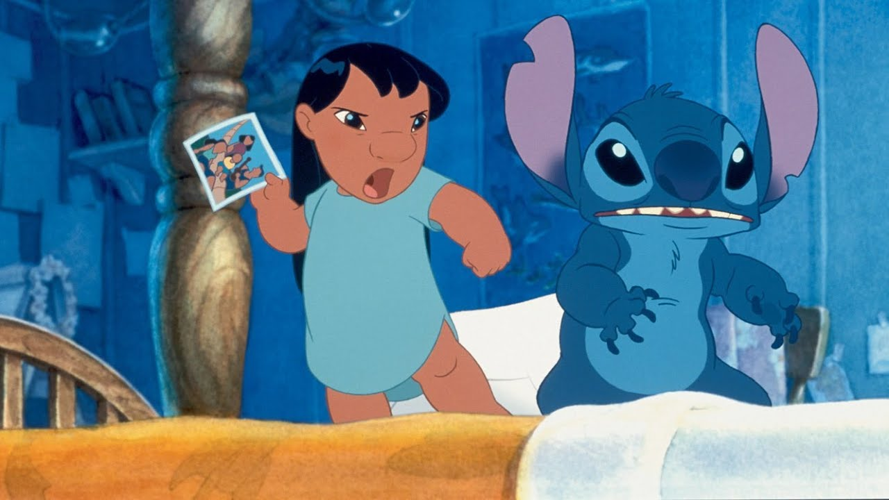 This is a picture of Ridiculous Lilo & Stitch Picture