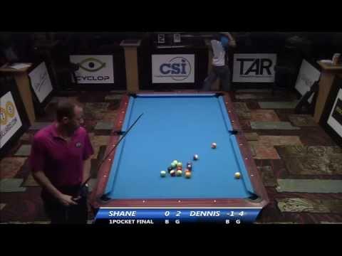 2014 US Open One Pocket (Final): Shane Van Boening vs Dennis Orcollo